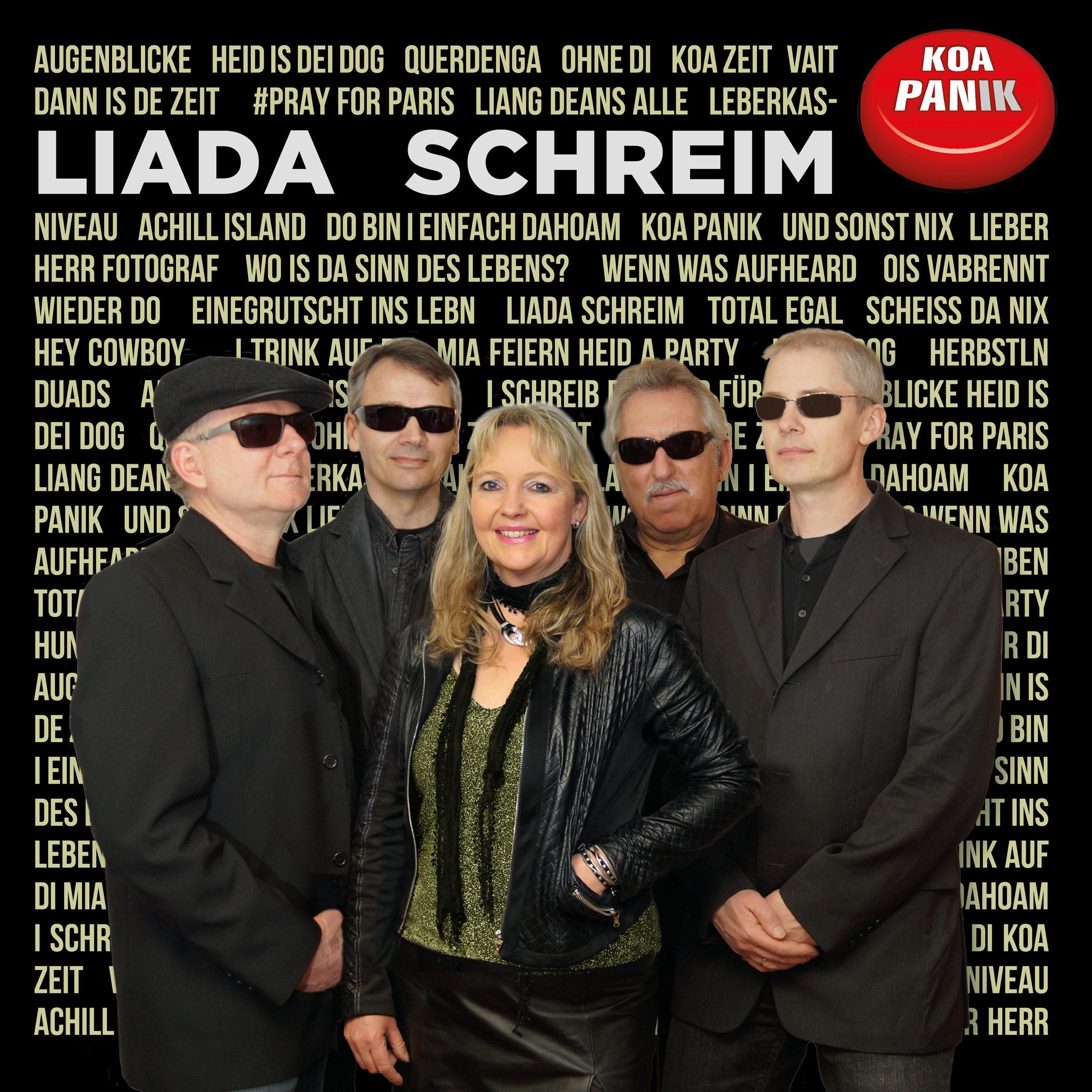 Koa PANik Band - CD-Cover - Liada schreim - 2020